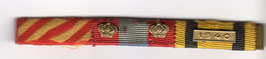 Royal Hellenic Air Force WW II Officers Ribbon Bar