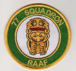 Royal Australian Air Force patch No.77 Squadron older F-18A/B Hornet