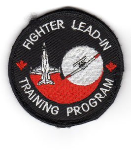 Royal Canadian Air Force patch Fighter Lead-In Training Program CF-188 CT-114