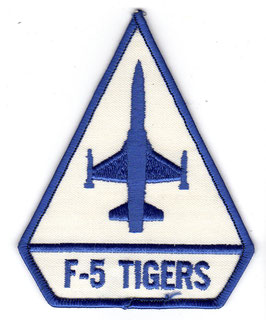 Vintage Taiwan Air Force patch F-5 Tigers