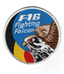 Belgian Air Force patch F-16 Fighting Falcon swirl
