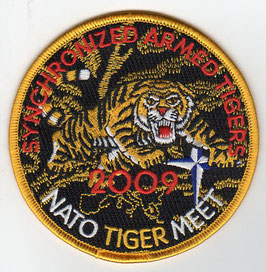 Swiss Air Force patch Fliegerstaffel 11 / Squadron 11 NATO Tiger Meet 2009