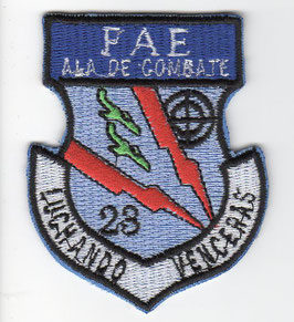 Ecuadorian Air Force patch Ala No.23 A-37B era