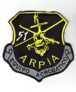 "Colombian Air Force patch Grupo de Combate 51 - Equipo Acrobatico ""Arpia"" -"