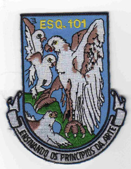 Portuguese Air Force patch 101 Esquadra TB-30
