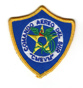 Guatemalan Air Force patch Comando Aereo del Sur (Southern Air Command)