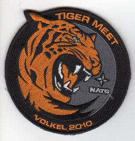 Royal Netherlands Air Force patch NATO Tiger Meet 2010 Volkel AB