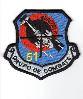 Colombian Air Force patch Grupo de Combate 51