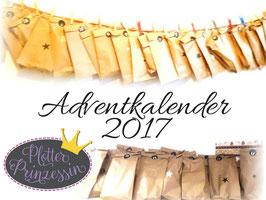 Plotter Prinzessin Adventkalender Vorbestellung
