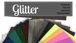 Glitter Folie  Streifen Set
