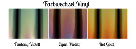 Farbwechsel Vinyl 21x30cm