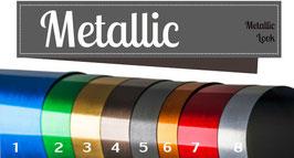 Metallic Folie  Streifen Set