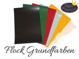 Starter Paket Flock Grundfarben A4