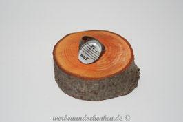 Ring in Altmessingoptik- oval- Noten 2