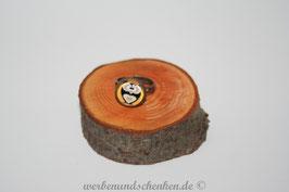 Ring in Altmessingoptik- Eule-schwarz
