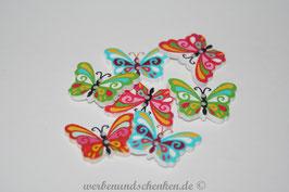 Holzknopf Schmetterling