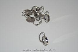 Ohrring- Rohling Metallfassung 12 x 23 mm