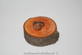 Ring in Altmessingoptik- Ranke- verschlungen