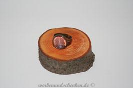 Ring in Altmessingoptik- Fau