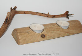 Teelichthalter rund