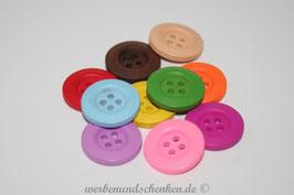 Holzknopf rund - farbig
