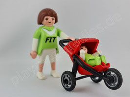 Playmobil 4697 Special Mama mit Baby-Jogger