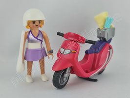 Playmobil 9084 Special Strand-Girl mit Roller