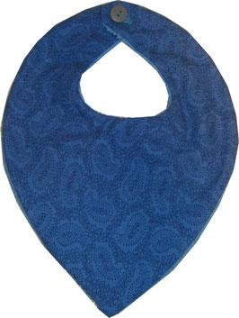 Babero azul