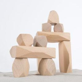 Piedras apilables de madera Guidecraft