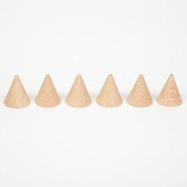 6 conos  crudo