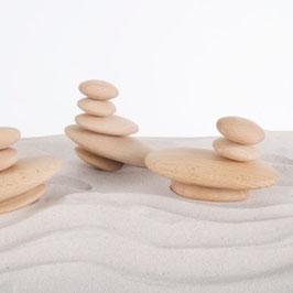 Piedras de río de madera Guidecraft