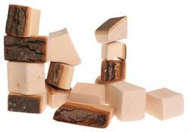 15 bloques con corteza