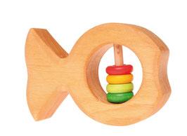 Mordedor sonajero pez