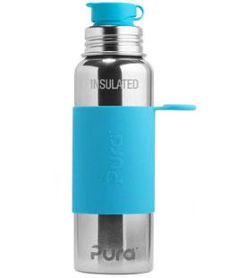 Pura ISO-Sportflasche 600ml mit Sleeve