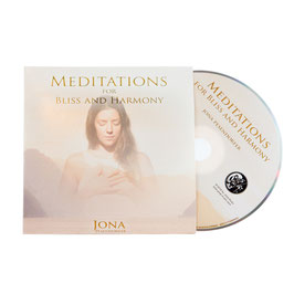 "CD ""Meditations for Bliss and Harmony"""
