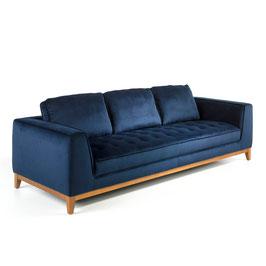 Sofa 3-Sitzer Samt