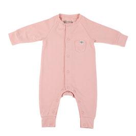 Süßer Baby-Strampler mit Sonnen-Schutz UPF50+ für Säuglinge und Babys in Misty Rose