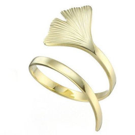 """Ring """"Ginkgo"""" gold"""