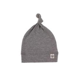 Mütze mit UV-Schutz für Babys und Säuglinge in Stein-Grau