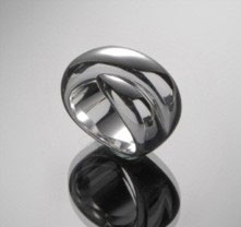"""Beautiful bestseller ring """"Little Kiss"""" made of 925 sterling silver"""