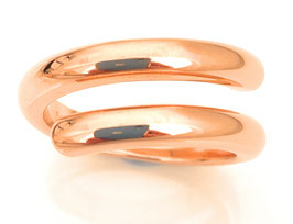 "Ring ""Raffinesse"" made of 925 sterling silver - combine & shine in Rosé!"