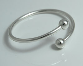"Bracelet ""Dance"" - open and elegant"
