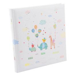 Babyalbum für Babys, Jungs und Mädchen von Turnowsky, 60 + 4 Seiten, 30 x 31 cm Größe