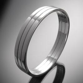 """Armreif """"Rim III"""" aus recyceltem 925 Silber"""