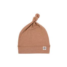 Mütze mit UV-Schutz für Babys und Säuglinge in Kokosnuss-Braun