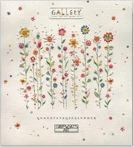 Kalender mit Blumen