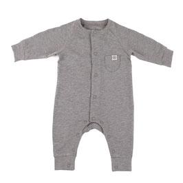 Süßer Baby-Strampler mit Sonnen-Schutz UPF50+ für Säuglinge und Babys in Stein-Grau