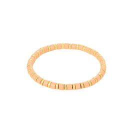 Armband Sugar beads Oranje/Roze/Wit