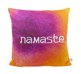 "Dekokissenhülle ""Namaste"""