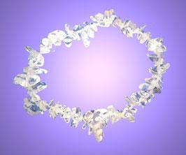 Splitter-Armband Bergkristall